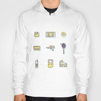 90s Hoodies featuring 90s Stuff by POP Collective
