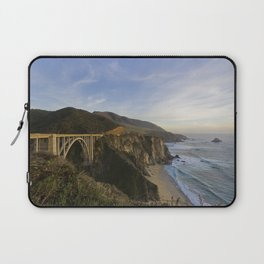 Bixby Bridge at Big Sur Laptop Sleeve