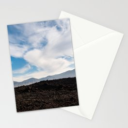 Mountain view in the clouds 1 | Lanzarote island | Fine art travel photography| Stationery Cards