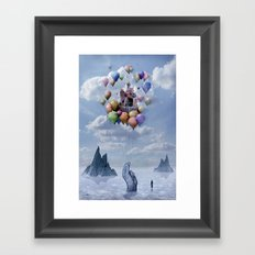 Sweet Castle Framed Art Print