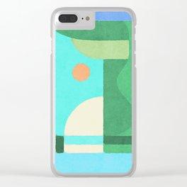 Sun Under Yonder Clear iPhone Case