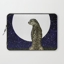 Cheetah Moon II Laptop Sleeve