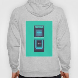 Polybius Arcade Game Machine Cabinet - Front Green Hoody