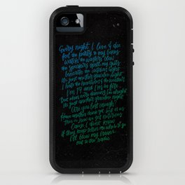 Perfect Places(Blue Green) iPhone Case