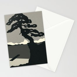 Baltic Coast Black and White Stationery Cards