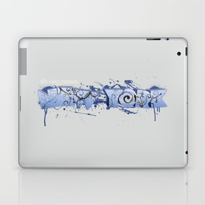 84 King St. New York Laptop & iPad Skin