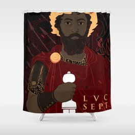 Septimius Severus Shower Curtain