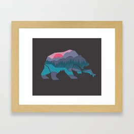 Bear Country Framed Art Print