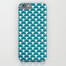 Dragon Scales Teal  Slim Case iPhone 6s