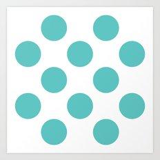 Dots Tiffany Art Print