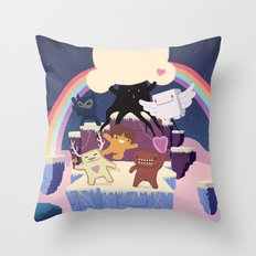 Where is my Heart Throw Pillow