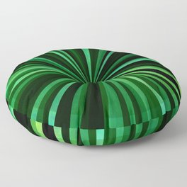 North Texas Green Sun Floor Pillow