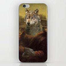 Furry Monnalisa  iPhone & iPod Skin