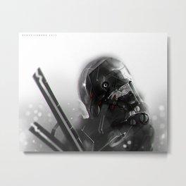Darkfall Tag Metal Print