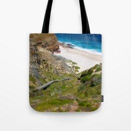 down the beach path Tote Bag