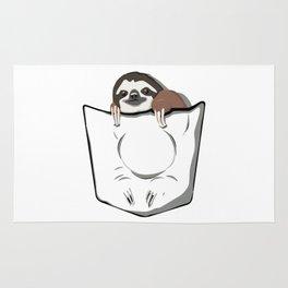 Sloth Pocket Rug