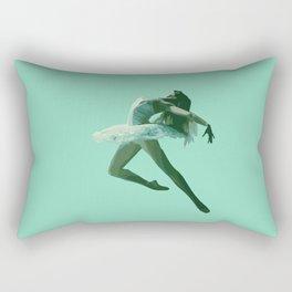 Dancing Woman  Rectangular Pillow