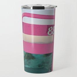 Pop Art 80's Chair Lift Travel Mug