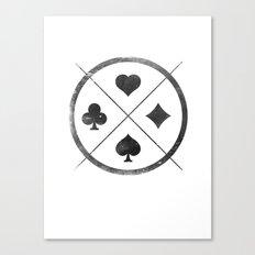 Wild Card Canvas Print