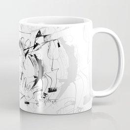 Crushed by a Bull - b&w Coffee Mug