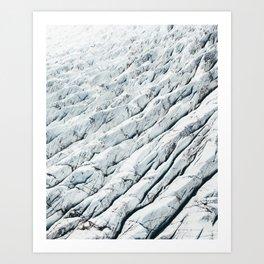 Iceland Glacier Art Print