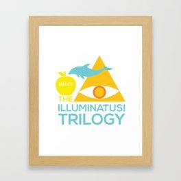 The Illuminatus! Trilogy Framed Art Print