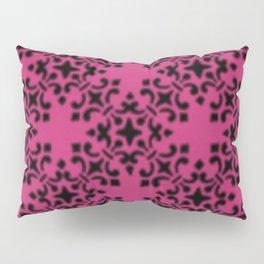 Vintage Brocade Damask Pink Yarrow Pillow Sham