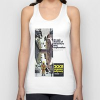 2001 Tank Tops featuring 2001 by Neon Wildlife