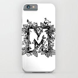 Leafy M iPhone Case