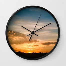 Where the sun rises Wall Clock