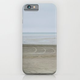 Airport on the beach iPhone Case
