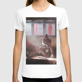 The Merc With A Mouth Stops To Reload - Dead T-shirt