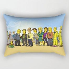 Breaking Bad cast Rectangular Pillow