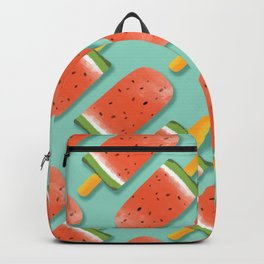 Watermelon Popsicles Pattern #society6 #decor #buyart Backpack
