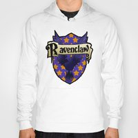 ravenclaw Hoodies featuring Ravenclaw Crest by AriesNamarie