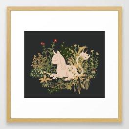 The Cutest Unicorn Framed Art Print