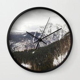 What Lies Ahead Wall Clock