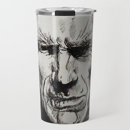 Clint Eastwood Pen portrait Travel Mug
