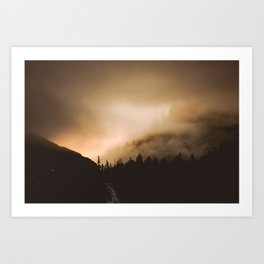 Breaking Dawn Art Print