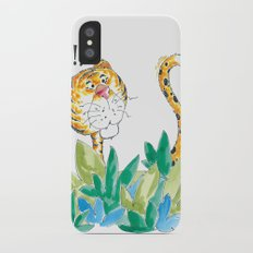 Spots, your tail is up! Slim Case iPhone X