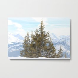 Wunderfull Snow Mountain(s) 7 Metal Print