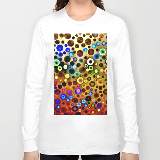 Colourful circles pattern Long Sleeve T-shirt