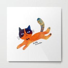 Spark the Cat Metal Print
