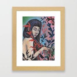 Blending Over Framed Art Print