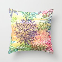 botanica Throw Pillow