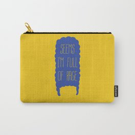 The simpsons - Marge Simpson - Seems I'm full of rage Carry-All Pouch