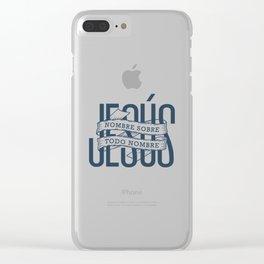 Jesus, nombre sobre todo nombre Clear iPhone Case