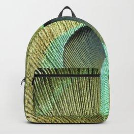 Eye Of A Peacock Backpack