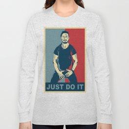 Shia Labeouf - Just do it Long Sleeve T-shirt