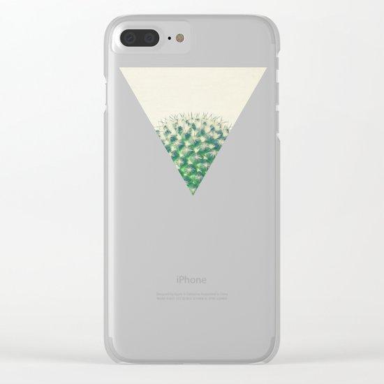Cactus IV Clear iPhone Case